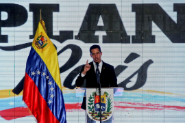 Guaidó dice que su inhabilitación es una «farsa»