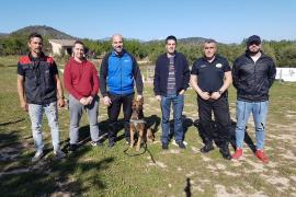 La Policía Local incorpora perros adiestrados en detectar droga en sa Pobla