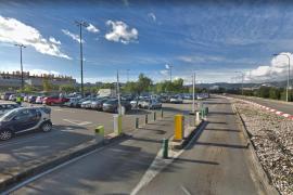 Hallado muerto un hombre en el parking de una gran superficie comercial de Palma