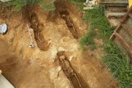 El yacimiento de s'Obac, en sa Pobla, es la necrópolis islámica más extensa hallada en Baleares