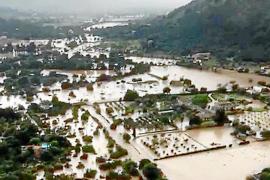 Las viviendas ilegales podrán cobrar las ayudas de la 'torrentada' de octubre en Pollença