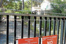 Defensa cede al Ajuntament de Porreres el uso del polvorín del Puig d'en Femella