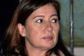 Francina Armengol, testigo del accidente provocado por la conductora kamikaze