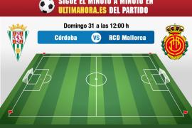 Córdoba-Real Mallorca, en directo