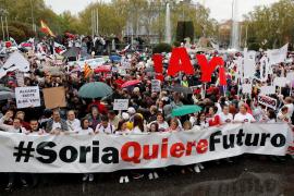 Miles de personas reclaman en Madrid que «no agonice» la España rural