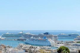 Nuevo récord de cruceros en Palma