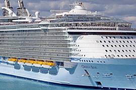 Seis cruceros realizarán su visita inaugural a Mallorca