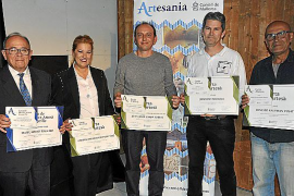 Entrega de VII Premis d'Artesania de Mallorca