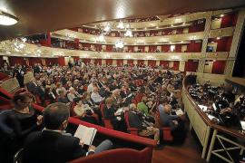 Lleno hasta la bandera en el Teatre Principal de Palma con el estreno de 'Madama Butterfly'