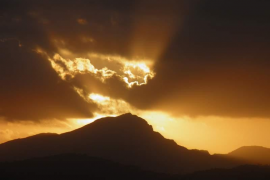 Posta de sol al Galatzó