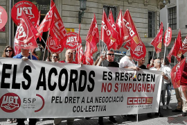 El Consell busca alternativas al plus ilegal y UGT alega para que se pague