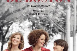 La obra de Rafel Duran 'Un matrimoni de Boston' visita el Teatre Municipal de Vilafranca