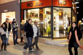 El Govern propone que los grandes comercios del centro de Palma abran los domingos