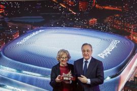 Presentación de la reforma del estadio Santiago Bernabéu