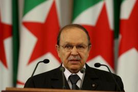Buteflika anuncia su dimisión como presidente de Argelia