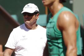 Toni Nadal: «Rafa no es jugador de tenis, es una persona lesionada que juega al tenis»