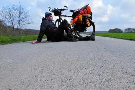 Camino de Santiago: Las pedaladas en solitario de Jaime Palmer