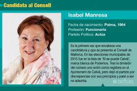 Isabel Manresa, una funcionaria que quiere cambiar lo que no le gusta desde la política