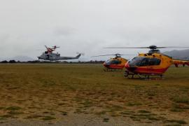 Un herido grave y 10 leves al salirse de la pista un avión militar en Jaca