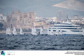 Blanco escala posiciones en Laser; Xammar y Rodríguez retroceden en el Trofeo Princesa Sofía