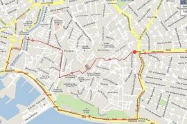 La Plataforma pel Tren de Llevant colapsará Palma con coches el 5 de mayo