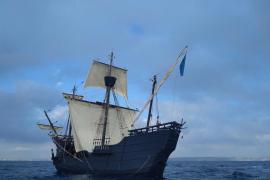 La 'Nao Victoria' hace escala en Palma y se podrá visitar en el Club de Mar