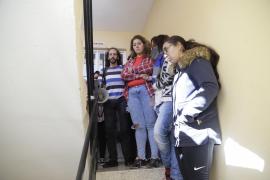 Paralizado el desahucio de una familia con menores en Son Roca