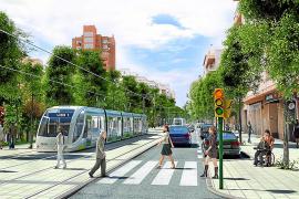 El Govern del Pacte gastó 2,9 millones en el proyecto del tranvía de la bahía de Palma