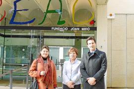 Gilet abre relaciones con la Fundació Miró de Barcelona