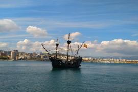 La nao 'Victoria' abre sus cubiertas al público en Palma