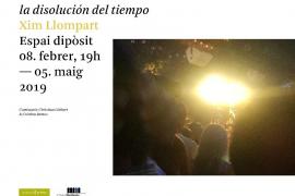La exposición 'La disolución del tiempo', de Xim Llompart, en el Casal Solleric de Palma