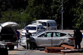 Once muertos en un tiroteo tras un robo frustrado en dos bancos en Brasil