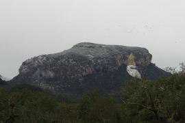 SA PRIMERA NEVADA DE L´ ANY 2012 A LA SERRA DE TRAMUNTANA.