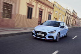 Hyundai lanza el i30 Fastback N, un coupé deportivo de cinco puertas