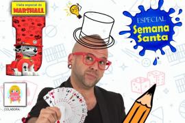 Espectáculo de magia infantil 'Aluciflipante 2.0' en La Movida con un especial Semana Santa