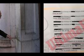 EXCLUSIVA | Los policías de Blanqueo investigados, sobre la falsa acusación al inspector jefe Suárez: «Que se joda»