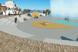 Lanzan una campaña a favor de mantener la piscina del Mar y Paz de Can Picafort