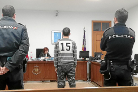Condenado un preso por rajar la cara a otro en el comedor de la cárcel de Palma