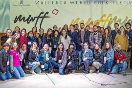 El Mallorca World Folk Festival ha contado con el apoyo de más de cincuenta voluntarios