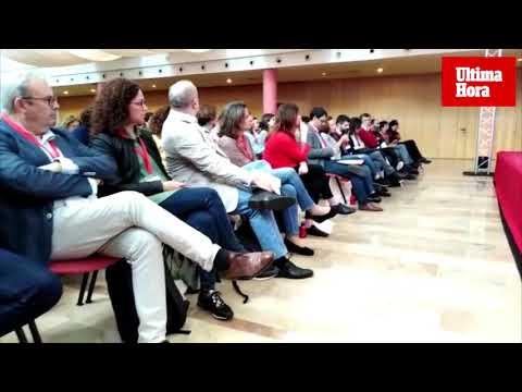 Armengol habla en la Conferencia Política del PSIB de que Baleares sea «laboratorio» de sostenibilidad ambiental