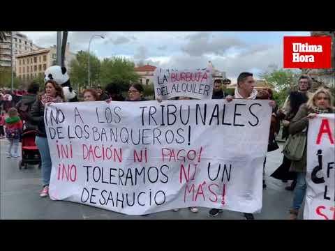 Manifestación en Palma contra los «alquileres abusivos»