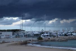 'Cap de fibló' en la bahía de Palma
