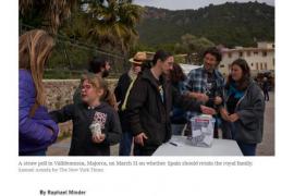 'The New York Times' analiza la consulta sobre la república en Mallorca