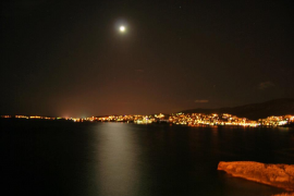 Bonito Dique del oeste de Palma de Mallorca