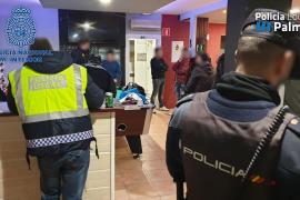 Un detenido en controles policiales contra el menudeo en Palma