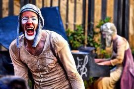 El clown gestual 'Insomni' de Dudú Arnalot se representa en el Festival Millor! de Teatre Familiar