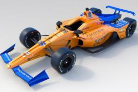 McLaren desvela el coche de Alonso para Indianápolis