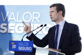 Casado reprocha a Sánchez: «Prefiere las manos manchadas de sangre a las manos manchadas de blanco»
