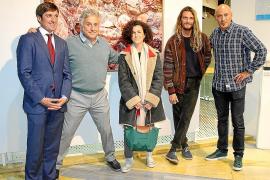 Inauguración de la feria de arte contemporáneo Flecha en Porto Pi Centro