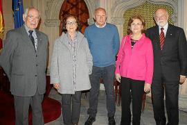 Homenaje a Enric Porqueres en Can Campaner
